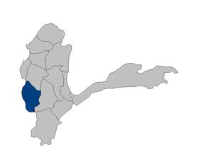 Kishim District - Image: Afghanistan Badakhshan Kishim district location