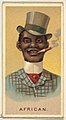African, from World's Smokers series (N33) for Allen & Ginter Cigarettes MET DP838649.jpg