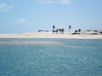 Ceará - Aguas Belas beach, in Cascavel.