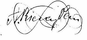 Agustí Riera i Pau - Signature