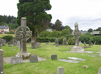 Ahenny - Ahenny High Crosses-Kilclispeen Graveyard