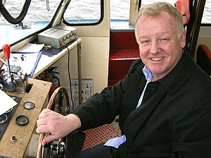 Les Dennis - Dennis in Cardiff Bay in 2010