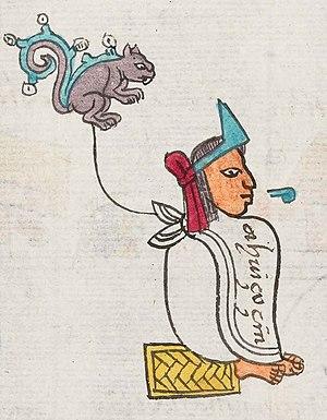 Ahuitzotl - Ahuitzotl in the Codex Mendoza