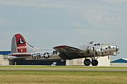 "AirExpo 2010 - B-17 Flying Fortress ""Yankee Lady"" (4824667310).jpg"
