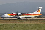 Air Nostrum ATR 72-600 (EC-LQV) at Palma de Mallorca Airport.jpg