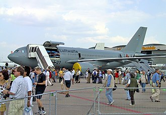 Military transport aircraft - Image: Airbus A310 MRT Med Evac ILA2002 02