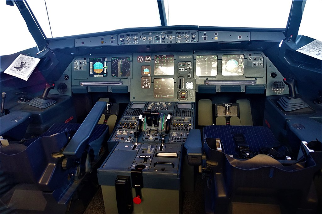 Airbus A320 Simulated Cockpit