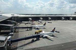 Vnukovo International Airport - Apron view