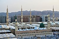 Al-Masjid An-Nabawi (Bird's Eye View).jpg