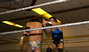 Al Snow - Snow striking his opponent with Head.