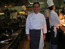 Alain Roux, chef The Waterside Inn restaurant.JPG