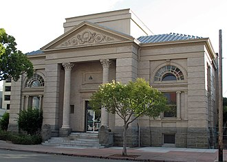 National Register of Historic Places listings in Alameda County, California - Image: Alameda Free Library (Alameda, CA)
