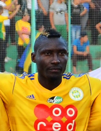 Clasico kabylo-algérois - Albert Ebossé Bodjongo pictured on his last game before his death.