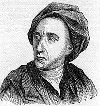 Alexander Pope, an English poet best known for his Essay on Criticism and Rape of the Lock
