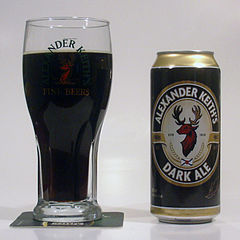 Alexander Keith's Dark Ale By PeRshGo (Own work) [GFDL (https://www.gnu.org/copyleft/fdl.html) or CC-BY-3.0 (https://creativecommons.org/licenses/by/3.0)], via Wikimedia Commons