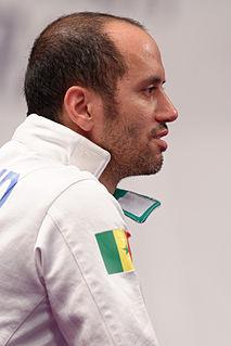 Alexandre Bouzaid French-Senegalese fencer