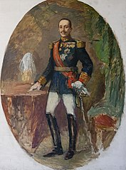 Portrait of the King Alfonso XIII