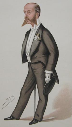 Alfred de Rothschild - Alfred de Rothschild, by Leslie Ward, 1884