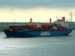 Aliança Europa - IMO 9000742 - Callsign PPSV, Port of Rotterdam 20-Jun-2006.jpg