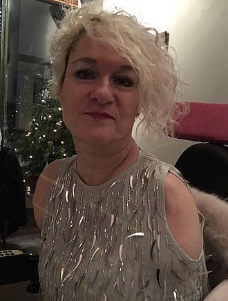 Alison Lapper - Alison Lapper in Brighton, December 2018