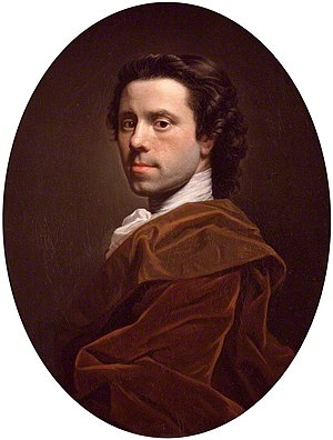 Principal Painter in Ordinary - Image: Allan Ramsay, Selbstportrait