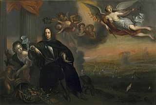Allegory of Cornelis de Witt (1623-1672) as Instigator of the Victory at Chatham in 1667