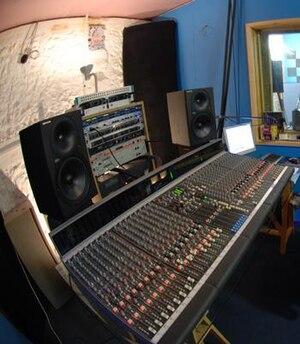 Allen & Heath - Image: Allen & Heath GS3000 mixing console in The Furnace residential recording studio