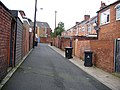 Alley at rear of Waldridge Road - geograph.org.uk - 1000506.jpg