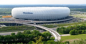 FC Bayern Munich - Opened in 2005: the Allianz Arena, one of the world's most modern football stadiums.