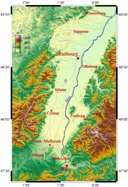 Alsace topo