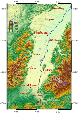Elsass Karte Frankreich.Elsass Wikipedia