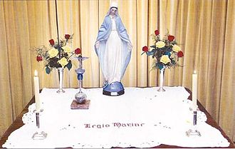 Legion of Mary - Altar of the Legion of Mary