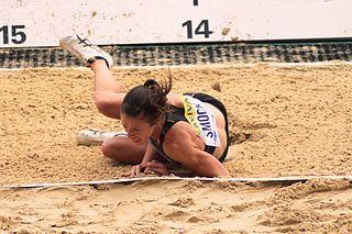 Amanda Smock American triple jumper