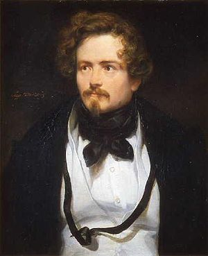 Eugène Emmanuel Amaury Duval - Portrait of Amaury-Duval by Eugène Devéria, musée Rolin, Autun.