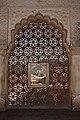 Amber Palace-Man Singh Palace-Dormer in a Jali-20131017.jpg