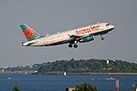America West N822AW A319.jpg