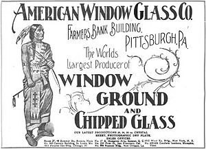 old advertisement showing American Indian
