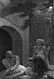 Ghoul folkloric monster or evil spirit from Arabic mythology