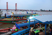 Ampera Bridge at Late Afternoon, Palembang.jpg