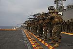 Amphibious roots, CLB-31 executes a live-fire exercise aboard ship 150204-M-WM612-986.jpg
