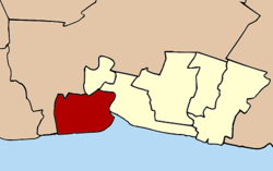 Amphoe location in Samut Prakan Province
