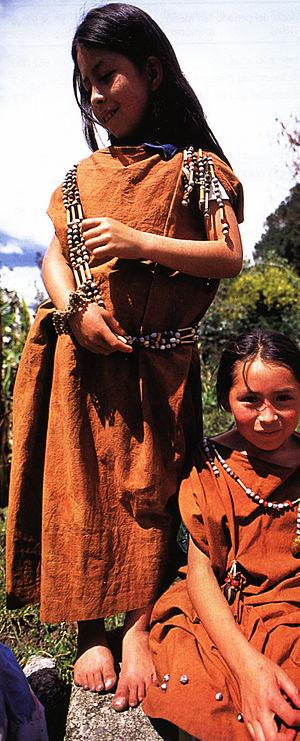 Yanesha people - Image: Amueshas 1