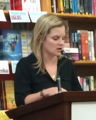 Amy Butcher at Powell's Books (cropped).png
