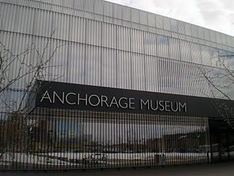 Anchorage Museum - The Anchorage Museum's facade incorporates a large amount of custom insulated fritted glass.