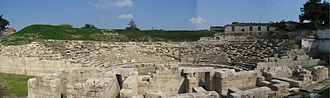 Ancient Thessaly - Ancient theatre in Larissa