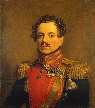 Stepan Andreyevskiy - Andreyevskiy by George Dawe (Military Gallery, Hermitage).