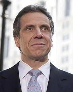 Andrew Cuomo by Pat Arnow cropped