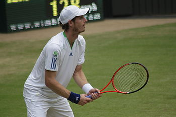 Andy Murray at the 2011 Wimbledon Championships.