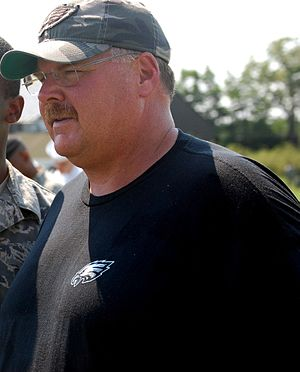 History of the Philadelphia Eagles - Andy Reid was brought in to coach the Eagles in 1999.