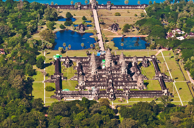 File:Angkor Wat Aerial View Siem Reap Cambodia 2011.jpg